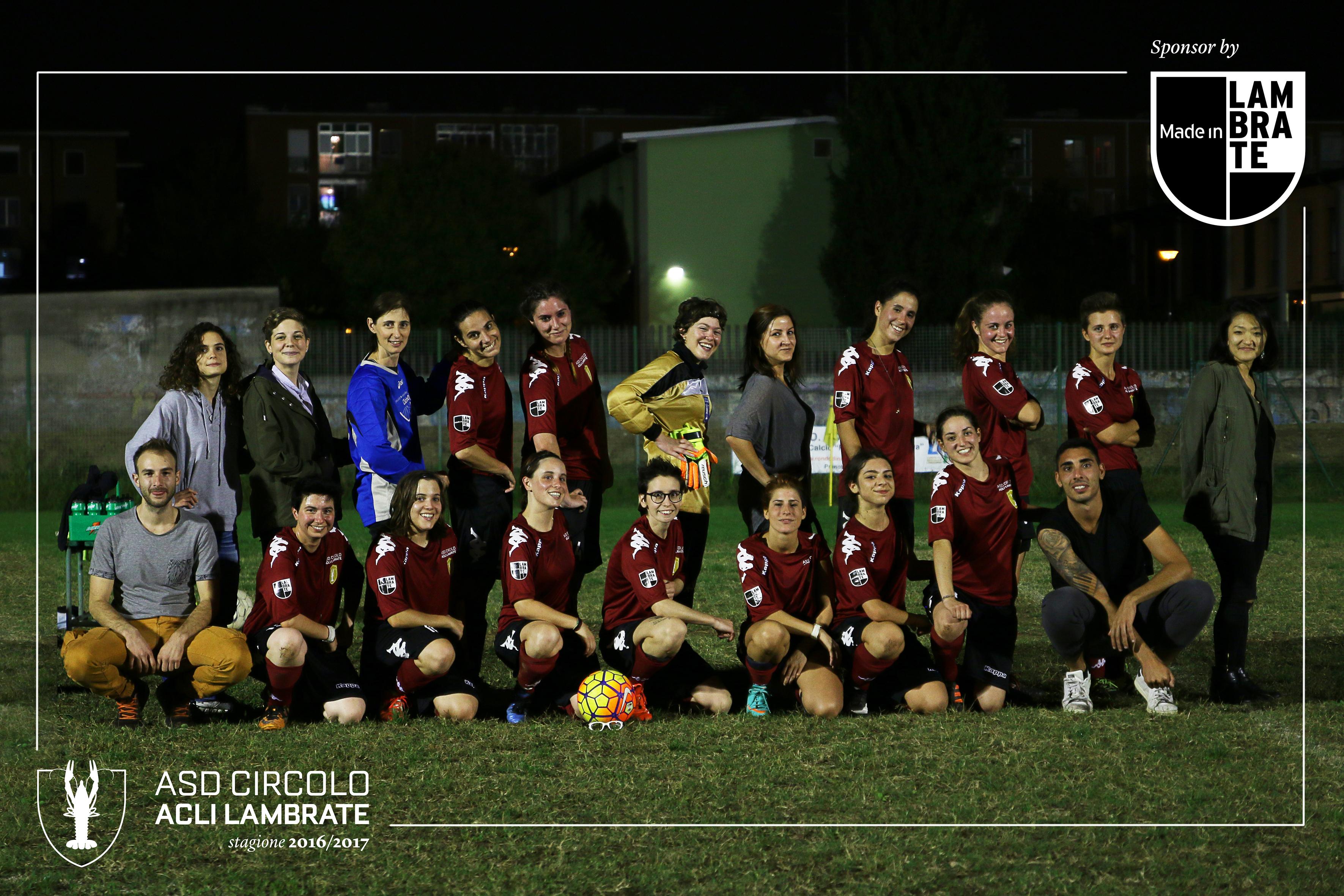 Made in Lambrate sponsor della squadra di calcio femminile