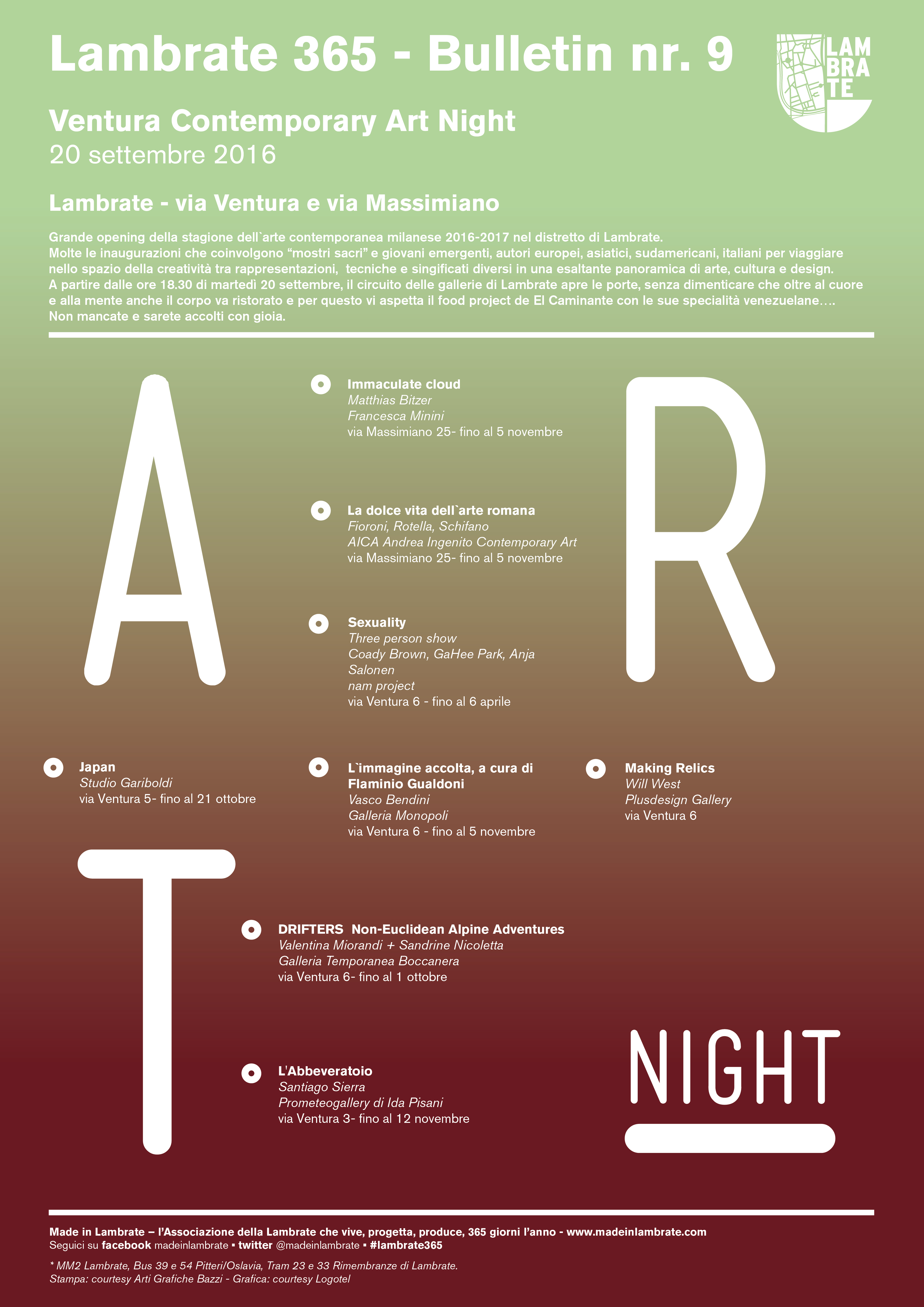 Ventura Contemporary Art Night - vol. 9